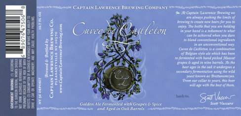 captain lawrence barrel aged beer